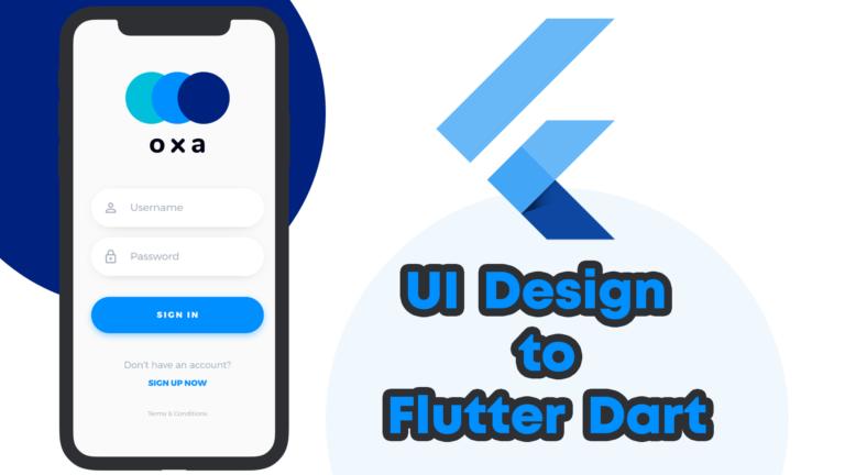 Flutter Login Page for Mobile App